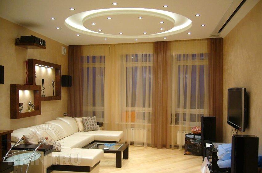 Ремонт в квартире зал