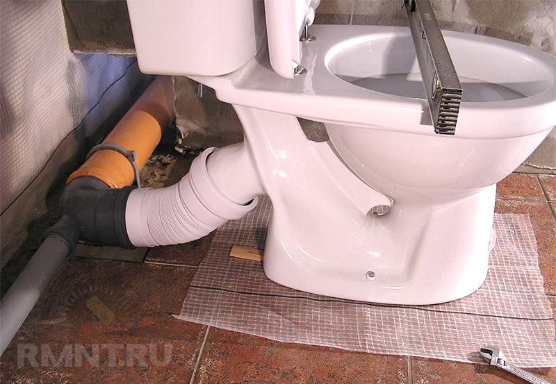 Как поменять туалет своими руками видео 56