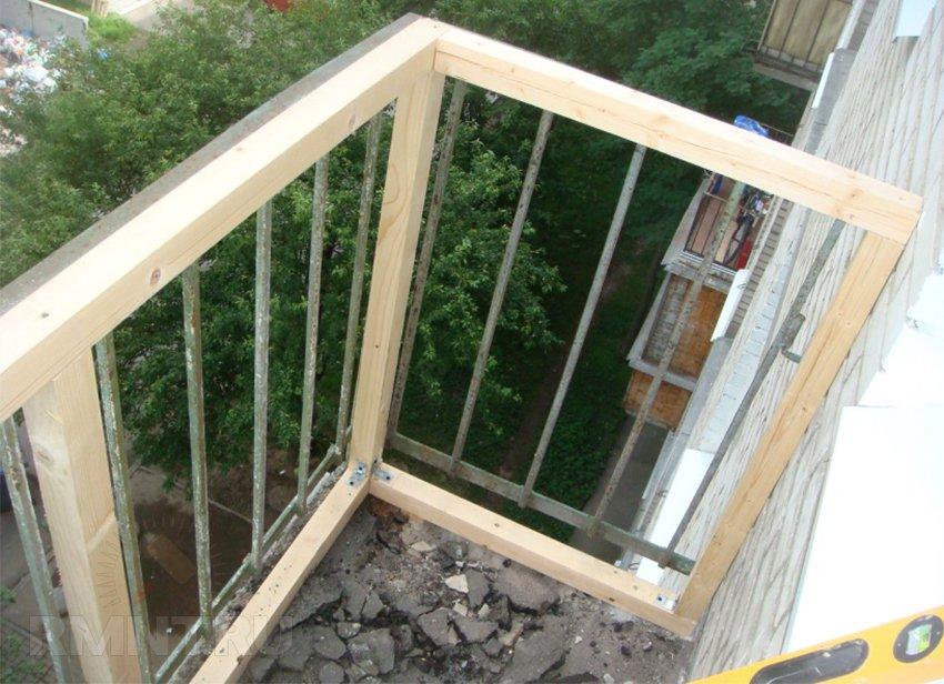Установка балкона своими руками 45