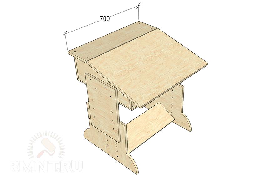 Как сделать стол для домика 304